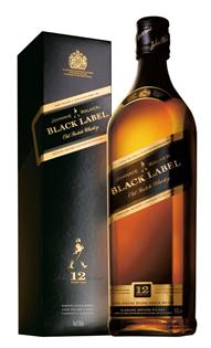 Johnnie Walker Scotch Black Label 12 Year 375ml